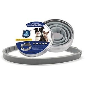 adraw Zeckenhalsband für Hunde   Flohhalsband für Katzen   Natürliches Präventionshalsband   gegen Zecken, Flöhe & Milben   passend für kleine, mittlere und große Haustiere  Bis zu 8-Monatiger Schutz
