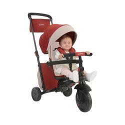 smarTrike® Dreirad Dreirad smarTfold 600, grau rot