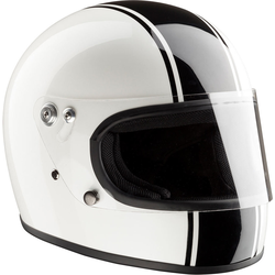 Bandit Integral ECE Motorradhelm, weiss, Größe S