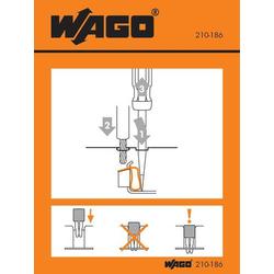 WAGO 210-186 Handhabungsaufkleber 100St.