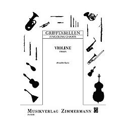 Grifftabellen - Violine - Buch