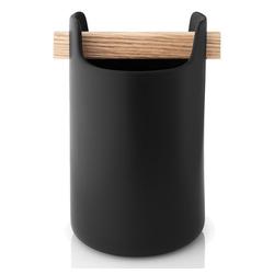 Eva Solo Aufbewahrungsbecher Toolbox Schwarz H 15cm, Holz, (1-tlg)