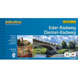 Eder-Radweg . Diemel-Radweg als Buch von