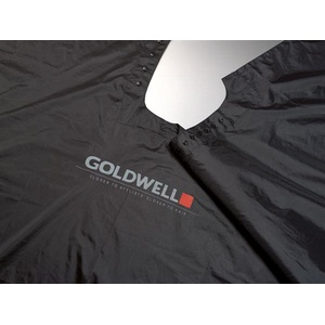 Goldwell Frisierumhang, schwarz Schneide & Färbeumhang