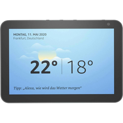 Amazon Echo Show 8 (Amazon Alexa), Smart Speaker, Schwarz