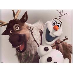 Disney Leinwandbild Frozen Olaf & Sven, (1 Stück)