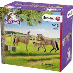 Schleich Hannoveraner Familie auf der Weide 42405