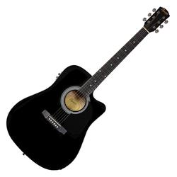 Fender Squier SA-105CE Westerngitarre BK