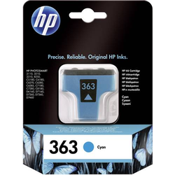HP Tintenpatrone 363 Original Cyan C8771EE Druckerpatrone