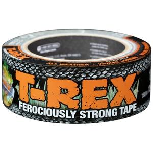 T Rex Klebeband, äußerst stark und wasserfest, graphitgrau, 48 mm x 10,9 m Ein hochfestes Gaffer-Klebeband, das auch UV-beständig ist, von den Herstellern des Original-Duck-Tape-Klebebandes.