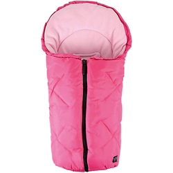 Fleece Kuschelsäckchen Babyschale und Kinderwagen, pink  Kinder