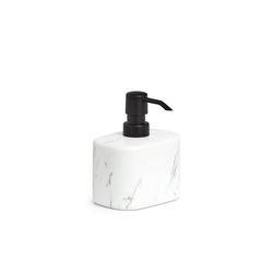 HTI-Living Seifenspender Seifenspender Keramik weiß