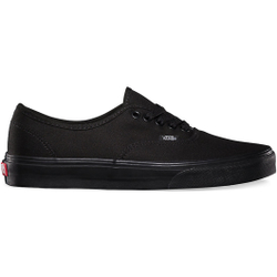 Vans - Authentic Black/Black - Sneakers - Größe: 5,5 US