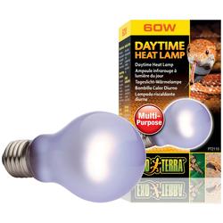 EXO TERRA Terrarienbeleuchtung Daytime Heat Lamp, 60 W, A19 weiß