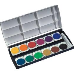 Deckfarbkasten 12 Farben