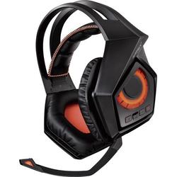 Asus ROG Strix Wireless Gaming Headset DECT, USB, 3.5mm Klinke schnurlos Over Ear Schwarz