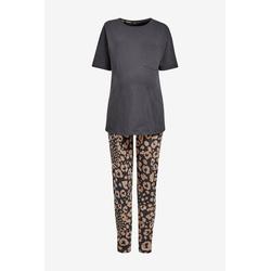 Next Umstandspyjama Baumwoll-Pyjama, Umstandsmode (2 tlg) XS
