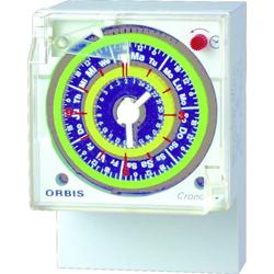ORBIS Zeitschalttechnik CRONO D 230V Aufputz-Zeitschaltuhr analog 250 V/AC