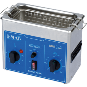 EMMI 20 HC - Ultraschallreiniger, 2 l , 150 W, mit Heizung, Edelstahl