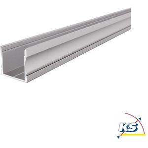 Deko-Light LED Profil AU-02-20 hohes U-Profil für 20-21,3mm LED Stripes, 2000mm, Aluminium eloxiert D-970201