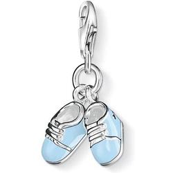 Thomas Sabo Blaue Babyschuhe 0822-007-1 Charm Anhänger