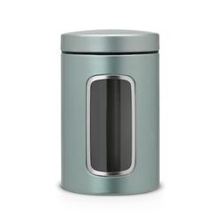 Brabantia Aufbewahrungsdose mit Fenster 1.4 L Metallische Minze