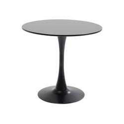 KARE Esstisch Tisch Schickeria Schwarz 80