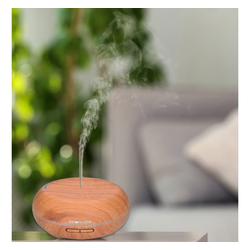 GEORGES Diffuser Georges Ultraschall Aroma-Diffuser 300 ml Holzmaserung Light Wood