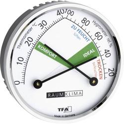 TFA Dostmann 45.2024 Thermo-/Hygrometer Silber