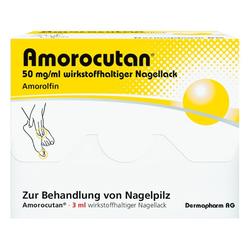 AMOROCUTAN 50 mg/ml wirkstoffhaltiger Nagellack 3 ml
