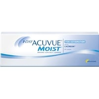 Acuvue 1-DAY Acuvue Moist for Astigmatism, 180er Pack / 8.50 BC / 14.50 DIA / -1.50 DPT / -1.25 CYL / 100° AX