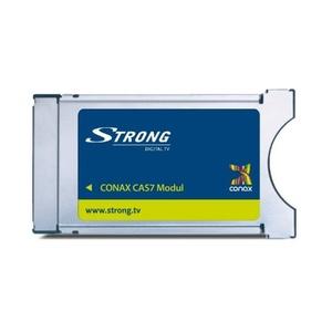 STRONG CAS7 Conax CI-Modul für Receiver mit Conax-Verschlüsselung für Sat-Receiver, Kabelempfänger oder terrestrischen Empfang
