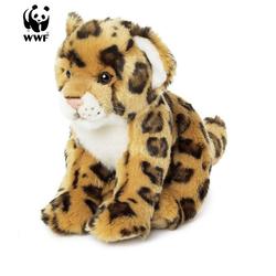 WWF Plüschfigur Plüschtier Jaguar (sitzend, 23cm)