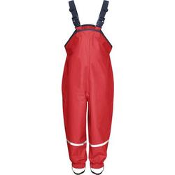 Playshoes Regenhose rot mit Textilfutter