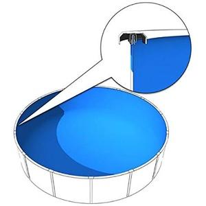 Poolfolie 3,5 - 3,60 x 1,20 - 1,35 m, Poolfolie 360x120 bis 135 cm, Poolfolie 350x120 bis 135cm, 0,6mm
