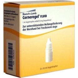 CORNEREGEL Fluid Augentropfen 30 ml