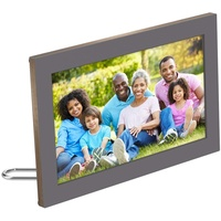 Netgear Digitaler Bilderrahmen, 15,6 Zoll HD, 16 x 10 Digitaler Bilderrahmen (Meural MC315 Smart WiFi) grau