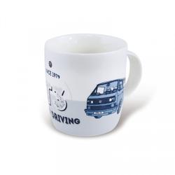 VW Bulli T3 Kaffeetasse 370 ml Keep Driving