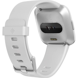 Fitbit Versa Lite weiß / aluminium silber