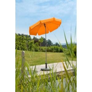 Schneider Schirme Sonnenschirm Locarno, abknickbar, ohne Schirmständer orange