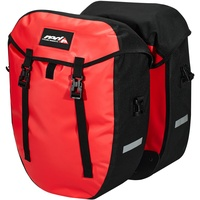 Red Cycling Products Urban Twin II Gepäckträgertasche 1 Paar red 2021 Gepäckträgertaschen