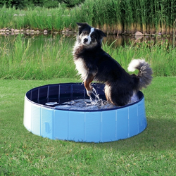 Trixie Hundepool, Maße: ø 80 x 20 cm