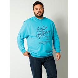 Sweatshirt Men Plus Türkis
