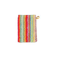 Cawö Waschhandschuh Lifestyle Streifen in multicolor hell, 16 x 22 cm
