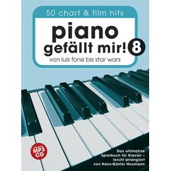 Piano Gefällt Mir! m. MP3-CD. Bd.8