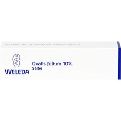 OXALIS FOLIUM 10% Salbe 25 g