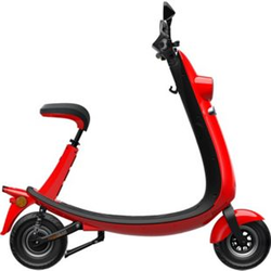 Ford OjO Commuter Scooter rot