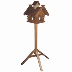 HOUSE & GARDEN Vogelfutterhaus Kranich mit Ständer Maße: 37x39x39cm