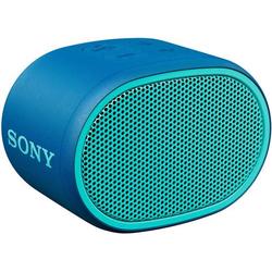 Sony SRS-XB01 Bluetooth® Lautsprecher AUX, Wasserfest Blau
