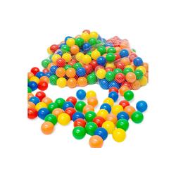 LittleTom Bällebad-Bälle 50 - 10.000 Stück Bällebad Bälle Bällebadbälle, Bunte Farben Neuware Ball